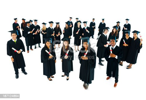 istock Successful Graduation 187124854