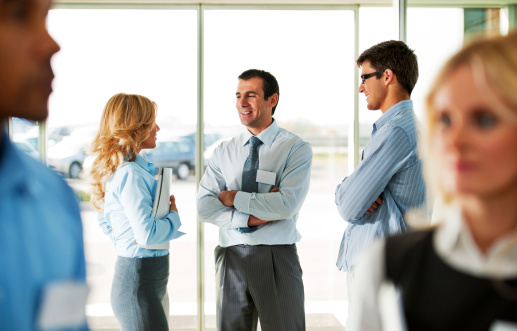 514325215 istock photo Successful group of businesspeople talking 170173406