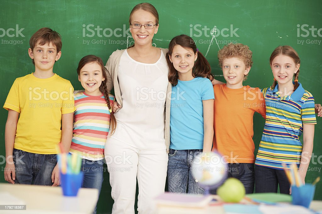 Successful group royalty-free stock photo