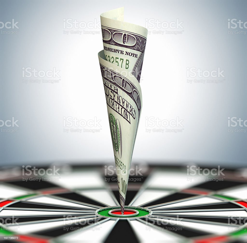 Successful investing royalty-free stock photo