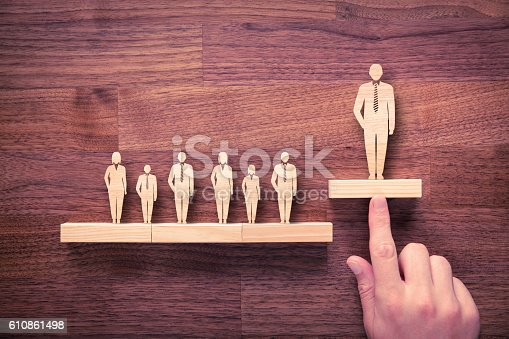 istock Successful leader 610861498