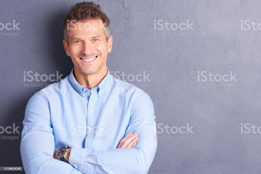Successful man portrait стоковое фото