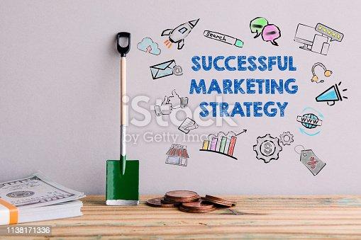 846409842 istock photo Successful marketing strategy 1138171336