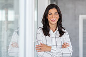 istock Successful mature business woman looking at camera 1189303232