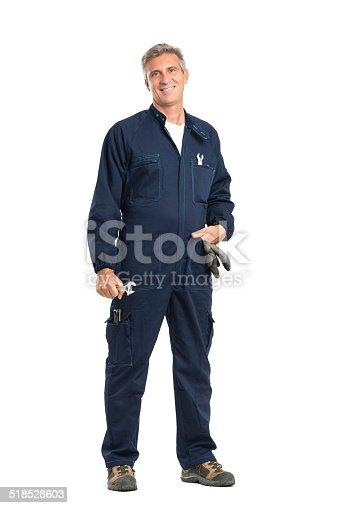 istock Successful Mechanic 518528603