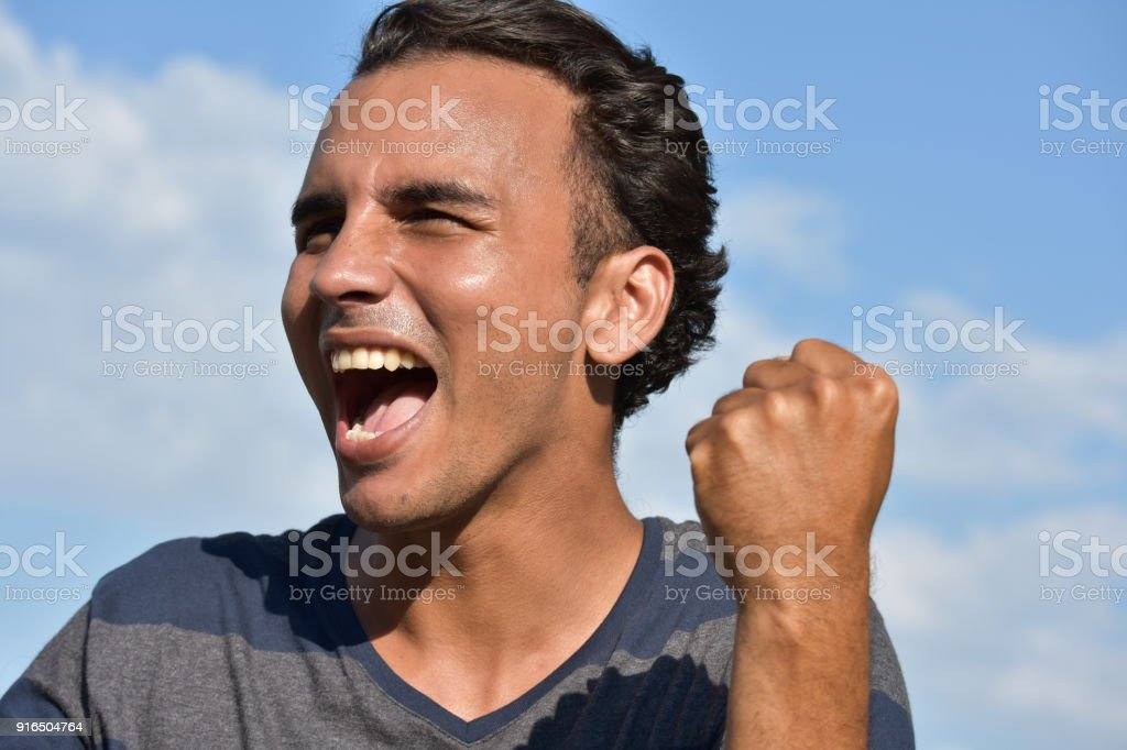 Successful Minority Male stock photo