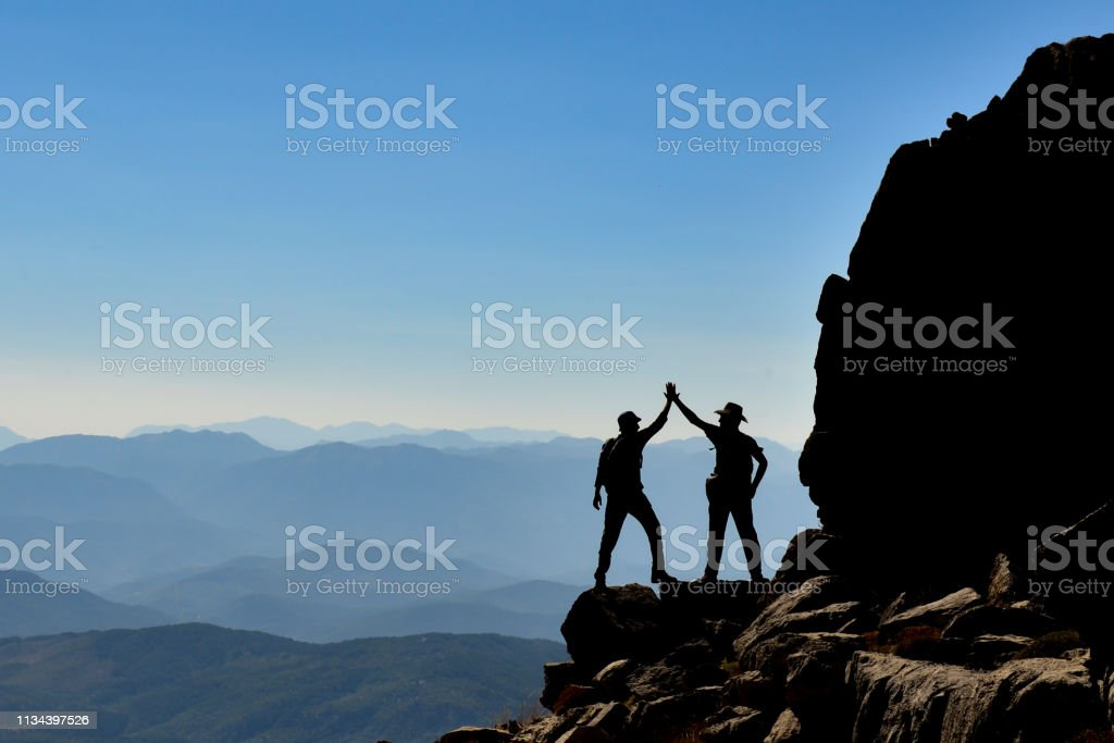 Successful People Victory Happiness stock photo