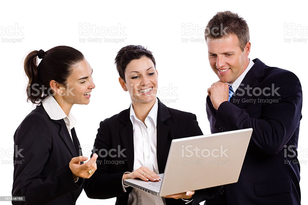 Successful results royalty-free stock photo