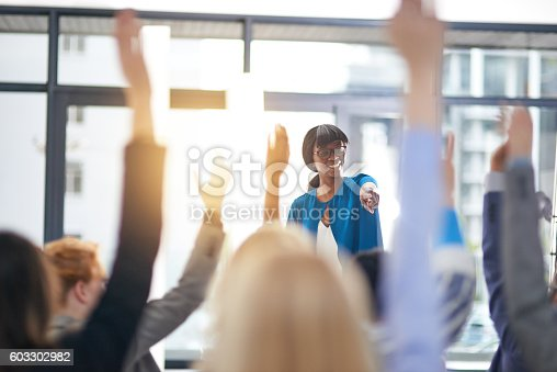 istock Successful seminars 603302982