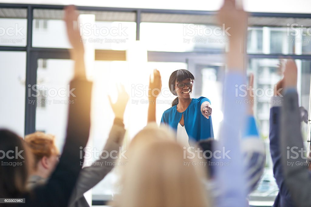 Successful seminars stock photo
