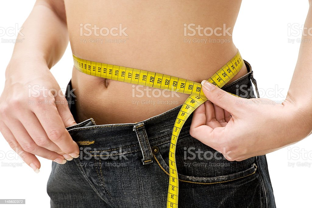 Successful Slimming stock photo
