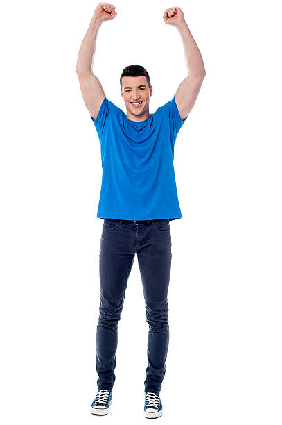 Successful smart young man stock photo