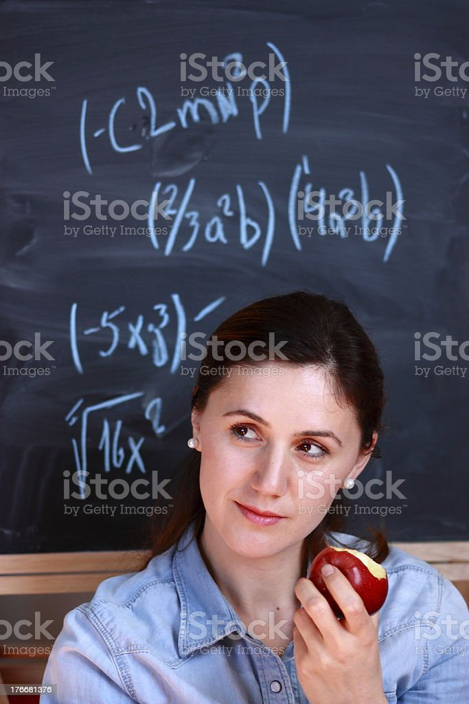 Successful student royalty-free stock photo