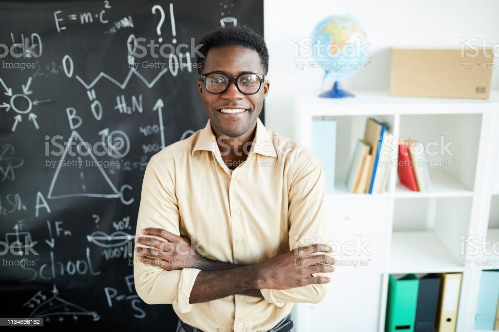 Erfolgreiche Lehrerin - Lizenzfrei Afro-Amerikanischer Herkunft Stock-Foto