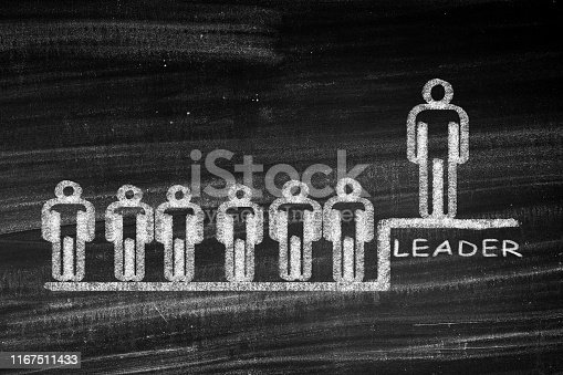 istock Successful team leader 1167511433