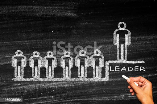 istock Successful team leader 1169088984