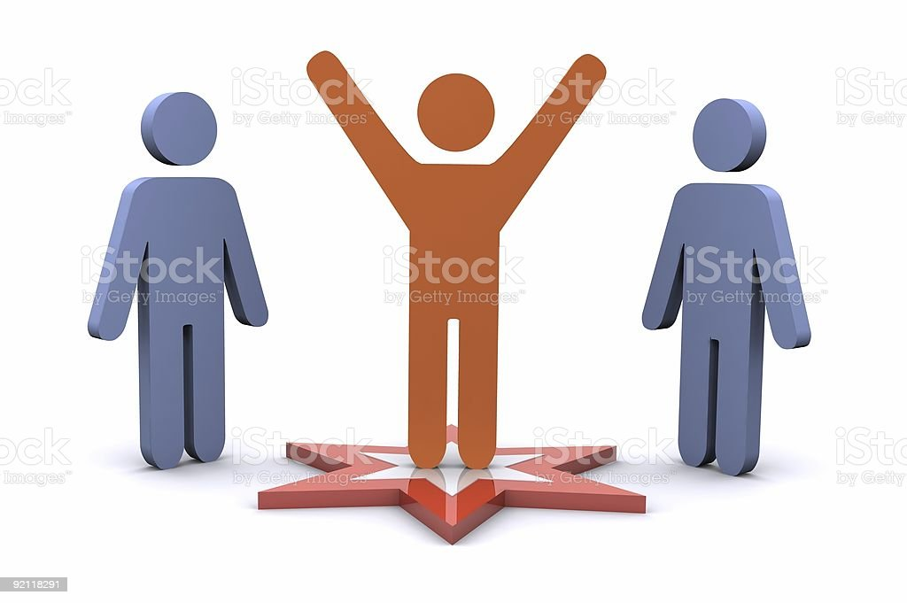 Successful Team royalty-free stock photo