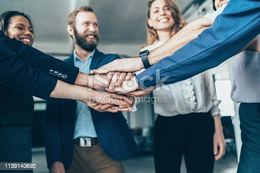 istock Successful teamwork 1139140692