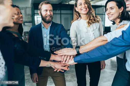 istock Successful teamwork 1156397248