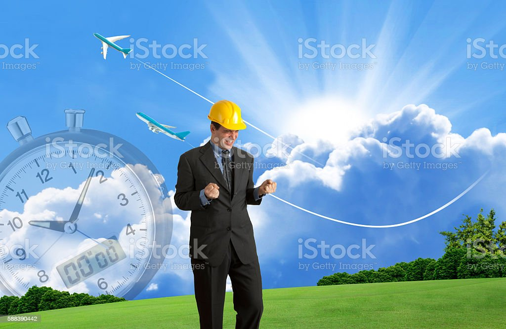 Successful Timing stock photo