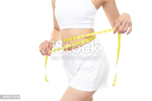 istock Successful woman on diet 628527876