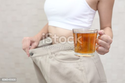 istock Successful woman on diet 636545500