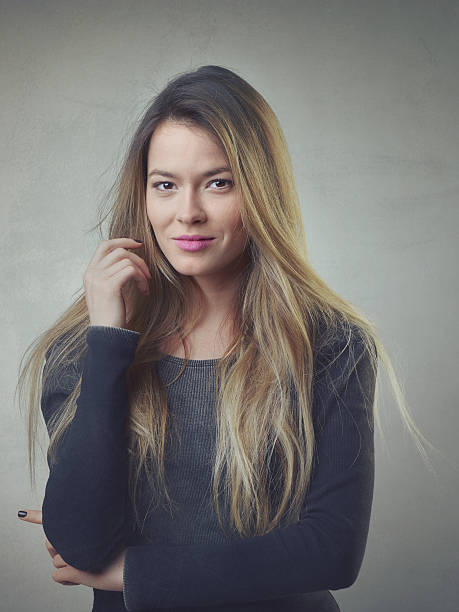 Successful women portrait stock photo