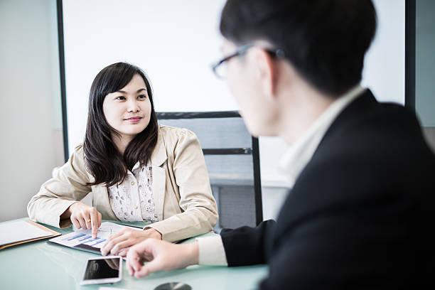 Erfolgreiche junge business-meeting im Büro Führungskräfte – Foto
