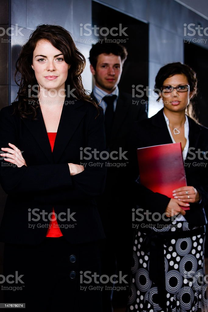 Successful young business team royalty-free stock photo