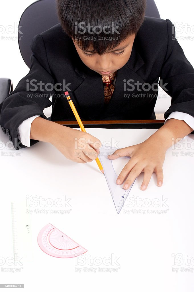 successful young engineer royalty-free stock photo