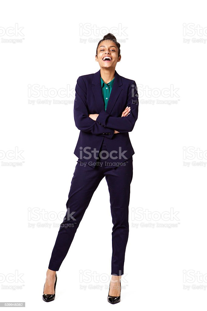 Successful young female business executive stock photo