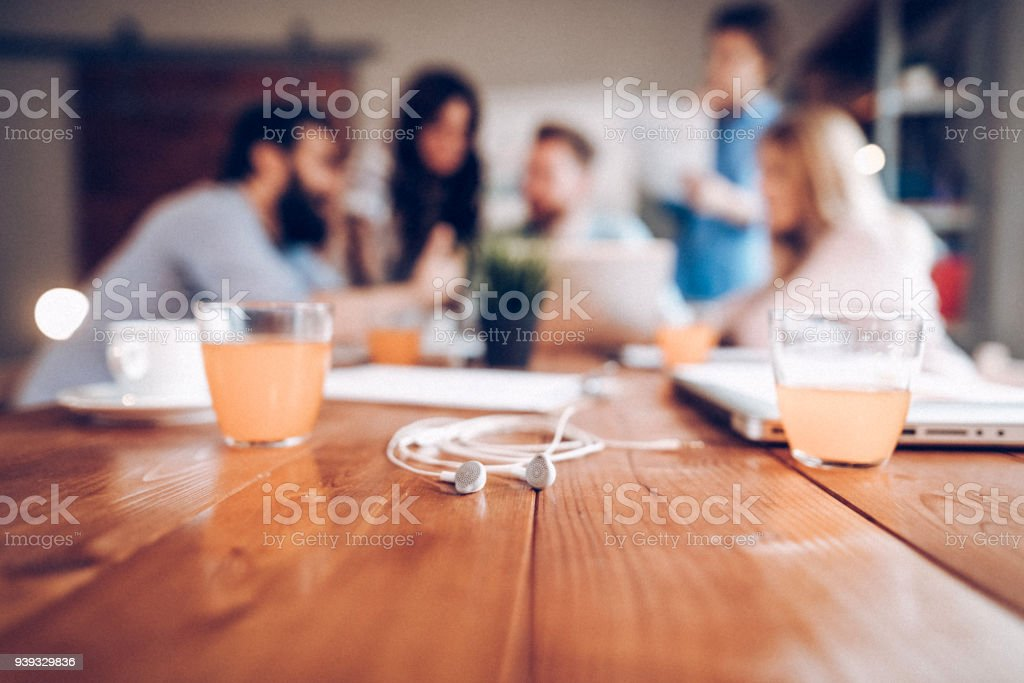 Successfull business team stock photo