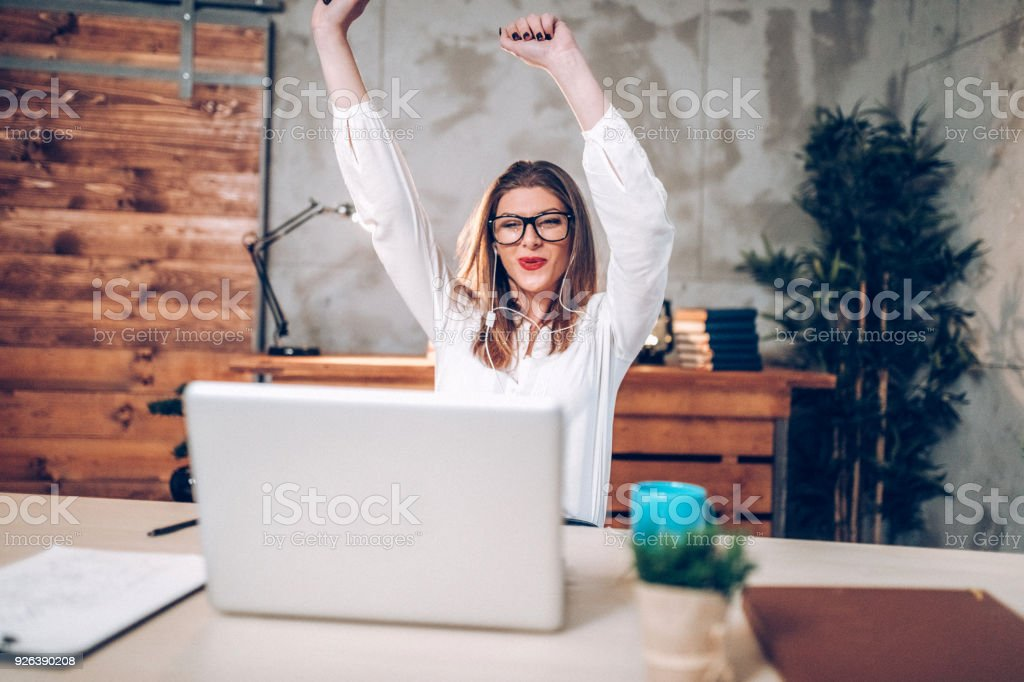 Successfull business women stock photo