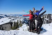 Cascade Mountains summit. Icicle Ridge trail near Seattle and Leavenworth. Washington. United States.