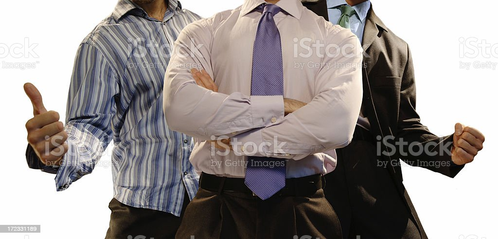 sucessful business team royalty-free stock photo