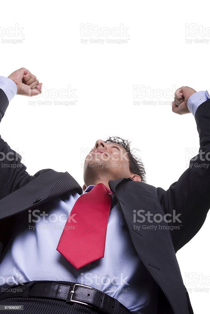 sucessful businessman royalty-free stock photo