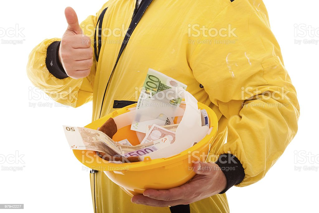 Sucessful job at construction royalty-free stock photo