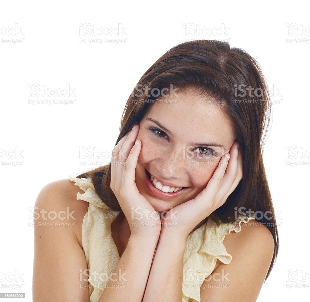 Such a sweety royalty-free stock photo