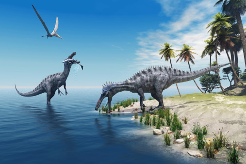 Suchomimus Dinosaurs Stock Photo - Download Image Now