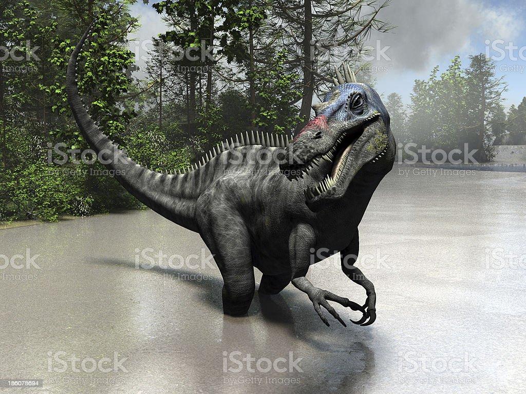 Suchomimus royalty-free stock photo