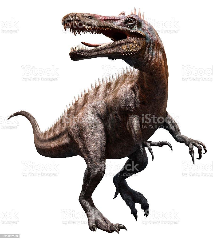 Suchomimus stock photo