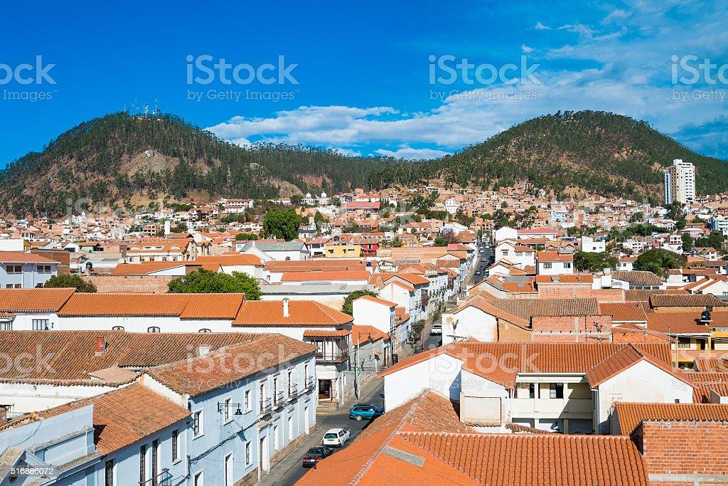 Sucre Bolivia stock photo