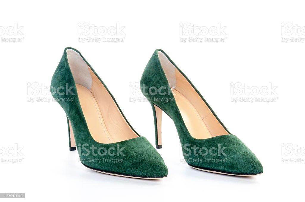 Der Schuh aus Wildleder – Foto