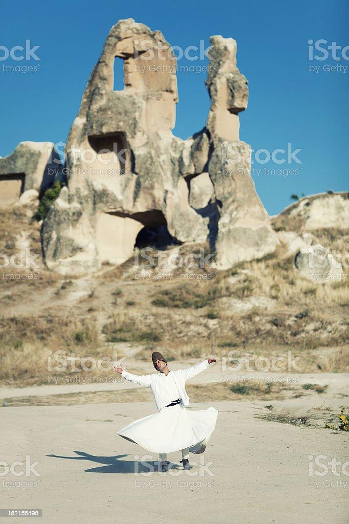 Sufi Dervish stock photo