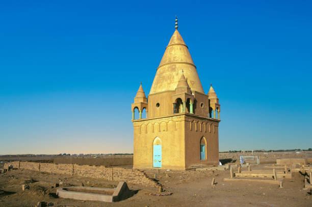 Sufi Mausoleum in Omdurman Sufi Mausoleum in Omdurman, Sudan omdurman stock pictures, royalty-free photos & images