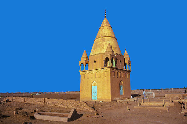 Sufi Mausoleum in Omdurman, Sudan Sufi Mausoleum in Omdurman, Sudan. Omdurman is the largest city in Sudan and Khartoum State. omdurman stock pictures, royalty-free photos & images