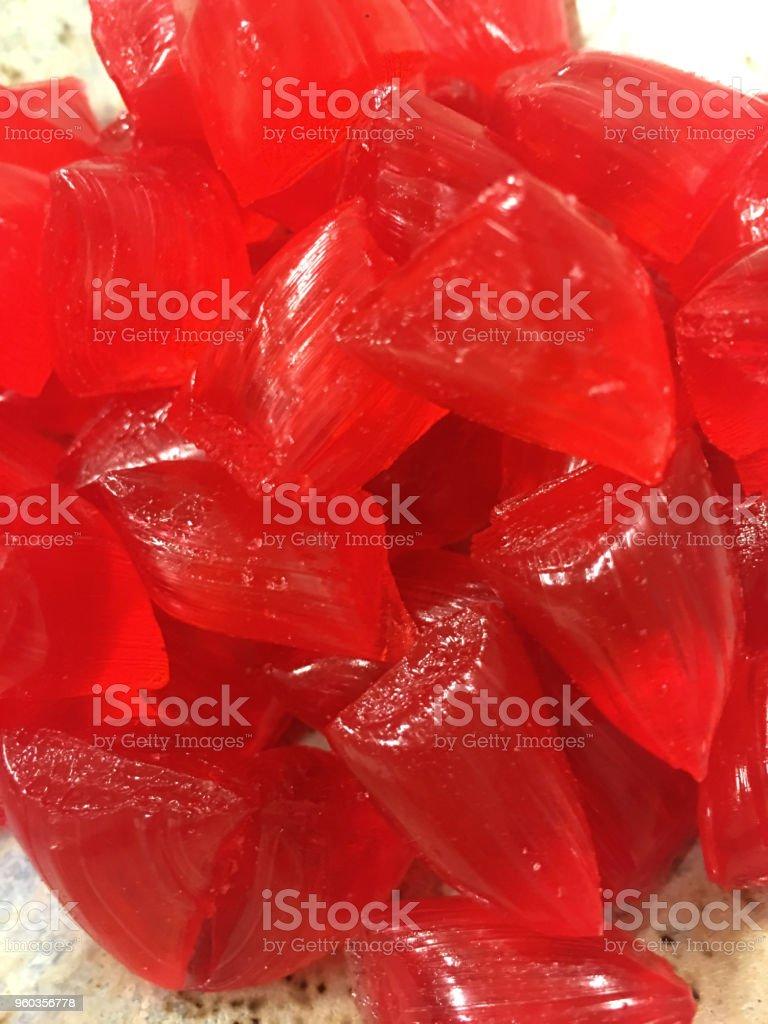 Şeker güçlü yansıması ile - Akide Sekeri şeker. stok fotoğrafı