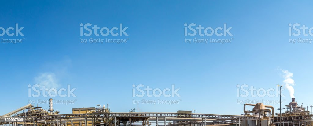 sugar cane industry factory production alcohol stock photo