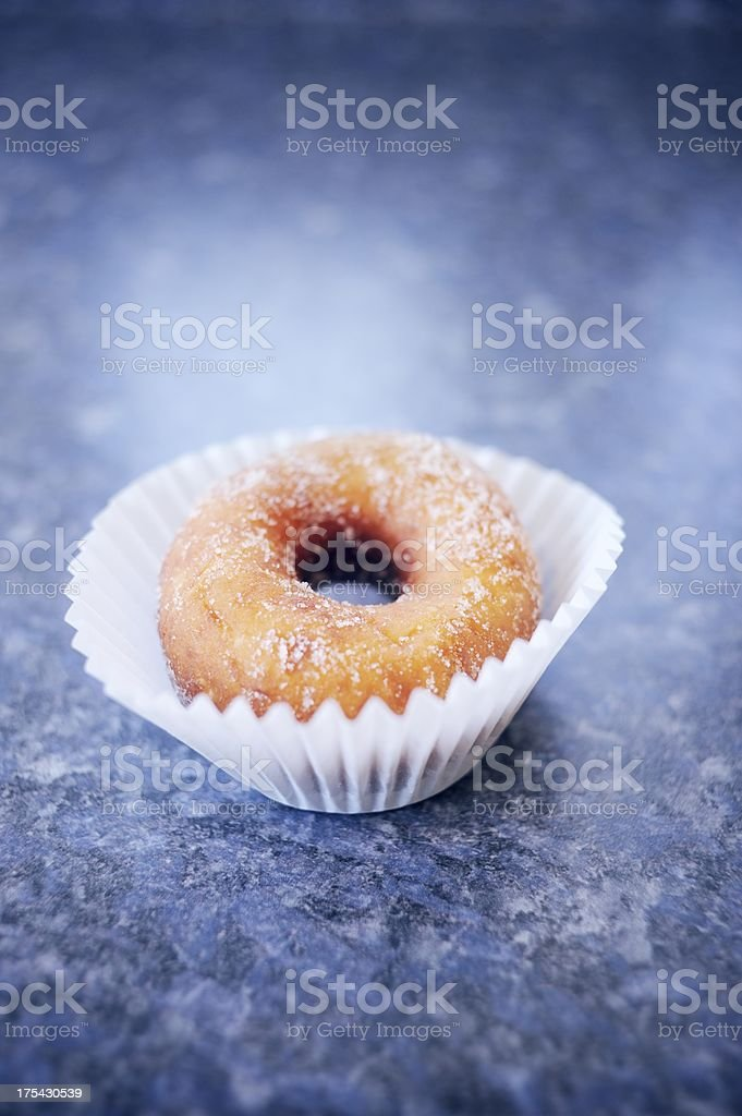 Sugar Coated Spudnut stock photo