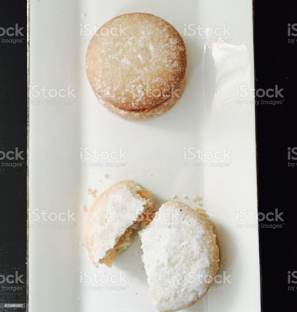 Biscoito de açúcar foto royalty-free